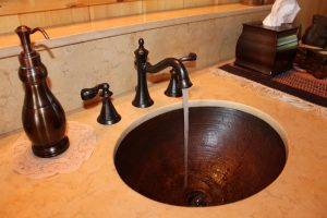 Copper Sink Hospital Health Bacteria Infection